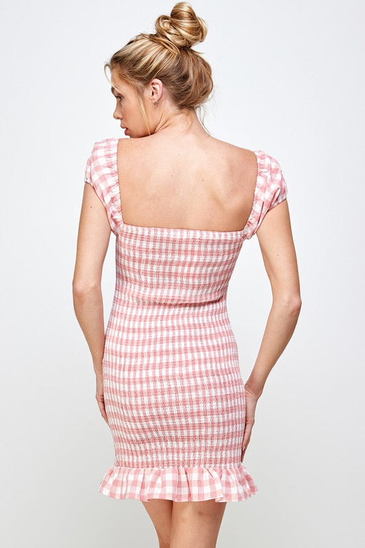 Take Back Home Girl Dress-Pink