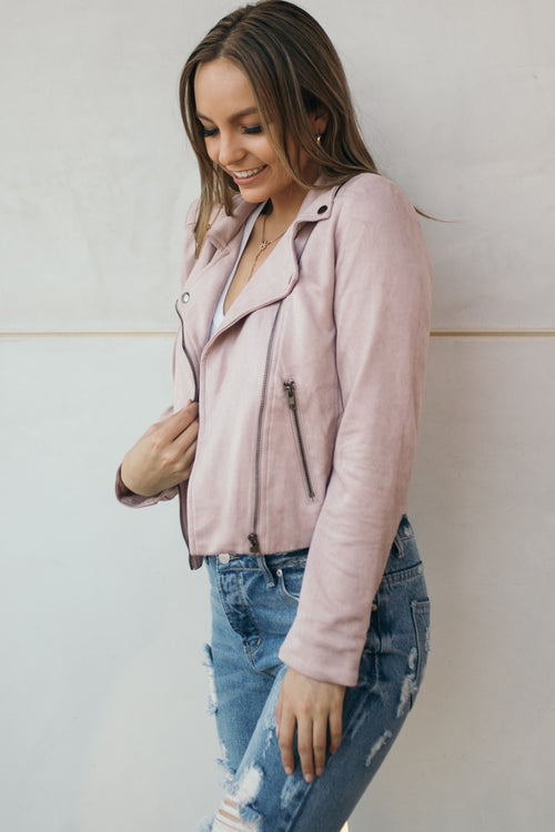 Rock & Rose Faux Suede Jacket