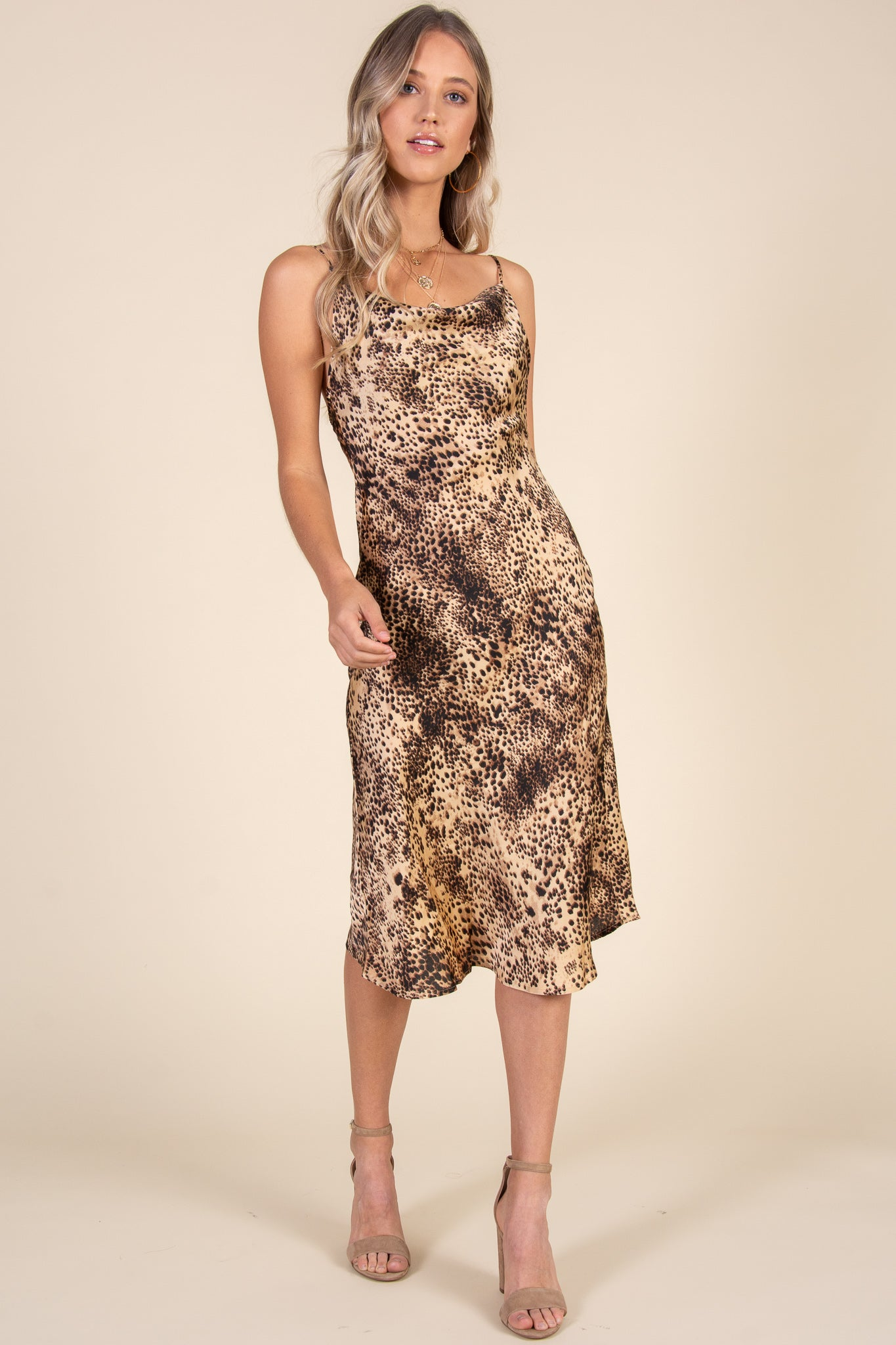 Welcome To The Jungle Dress-Cheetah