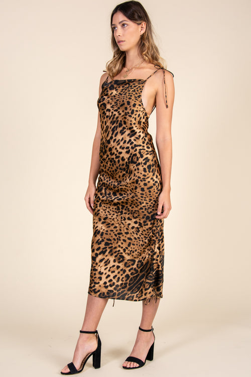 Three Way Dress-Leopard