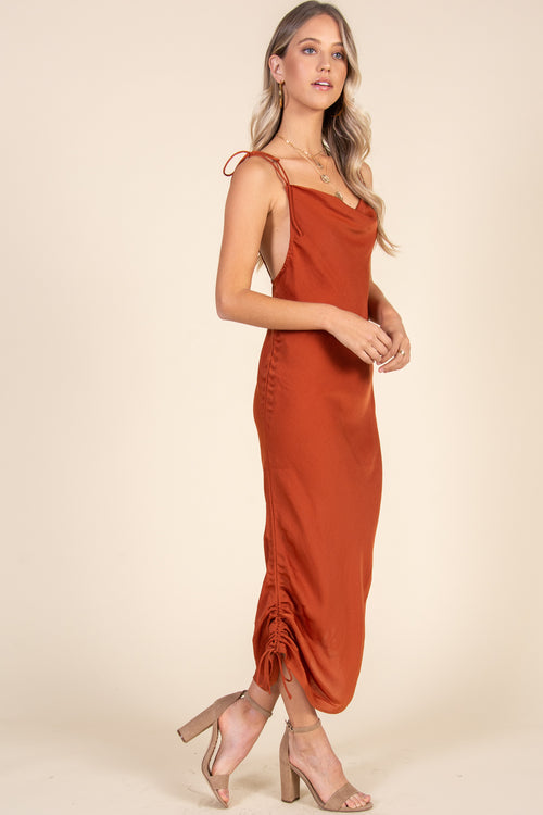 Three Way Dress-Copper