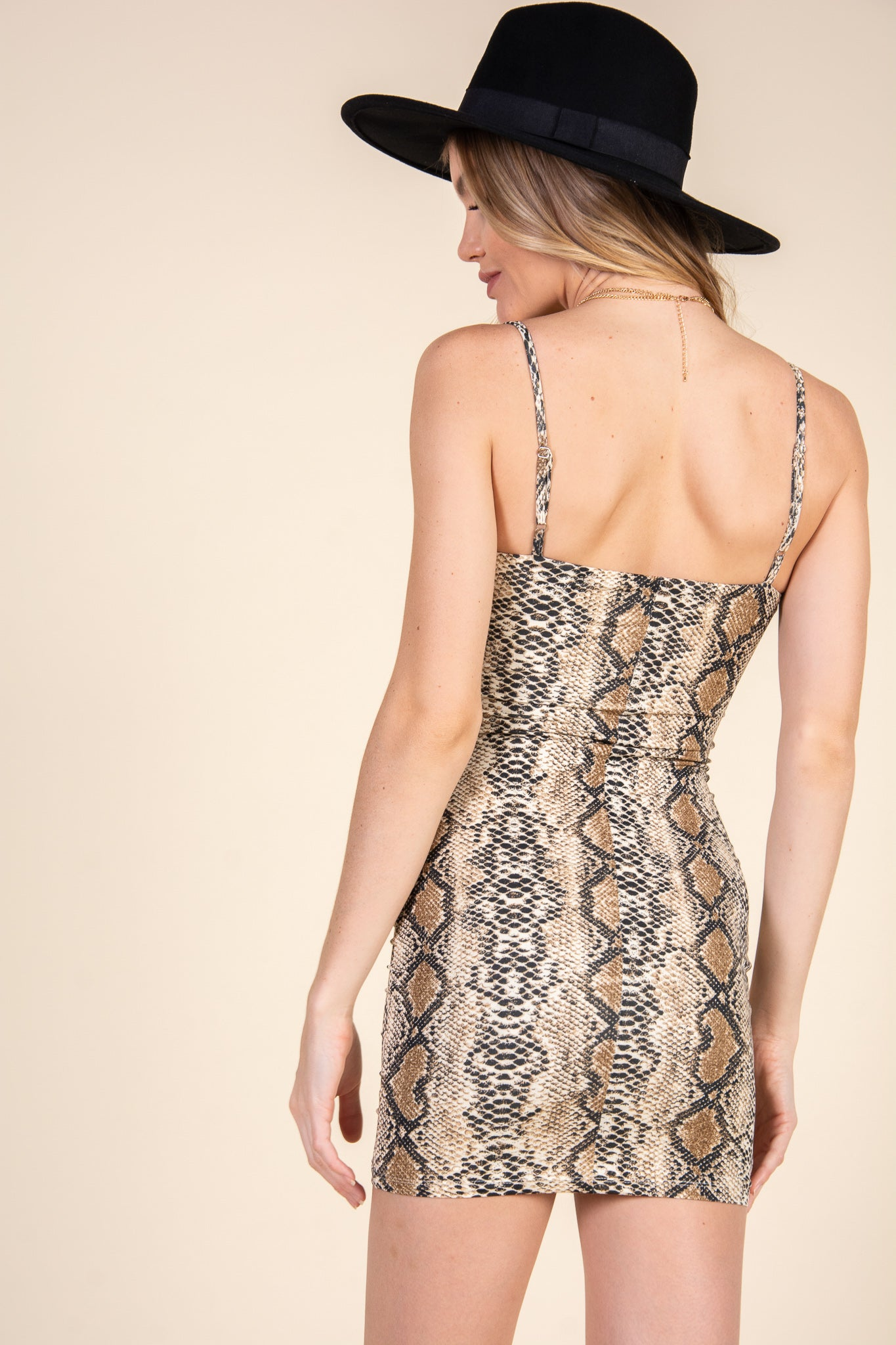Wild At Heart Dress-Snake