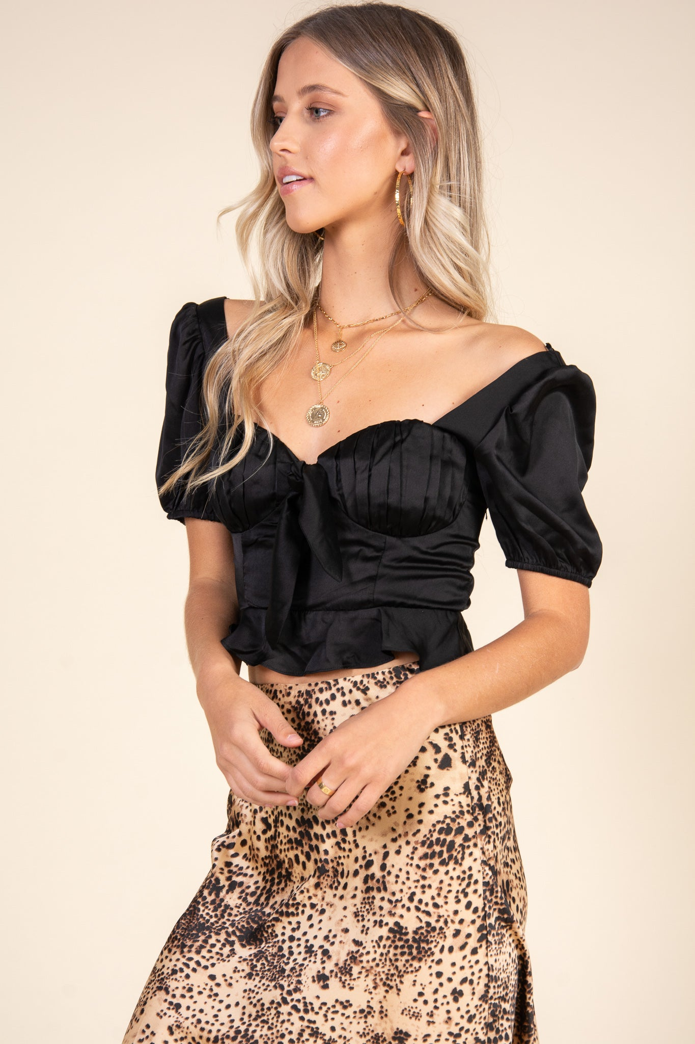 Isabella Top-Black