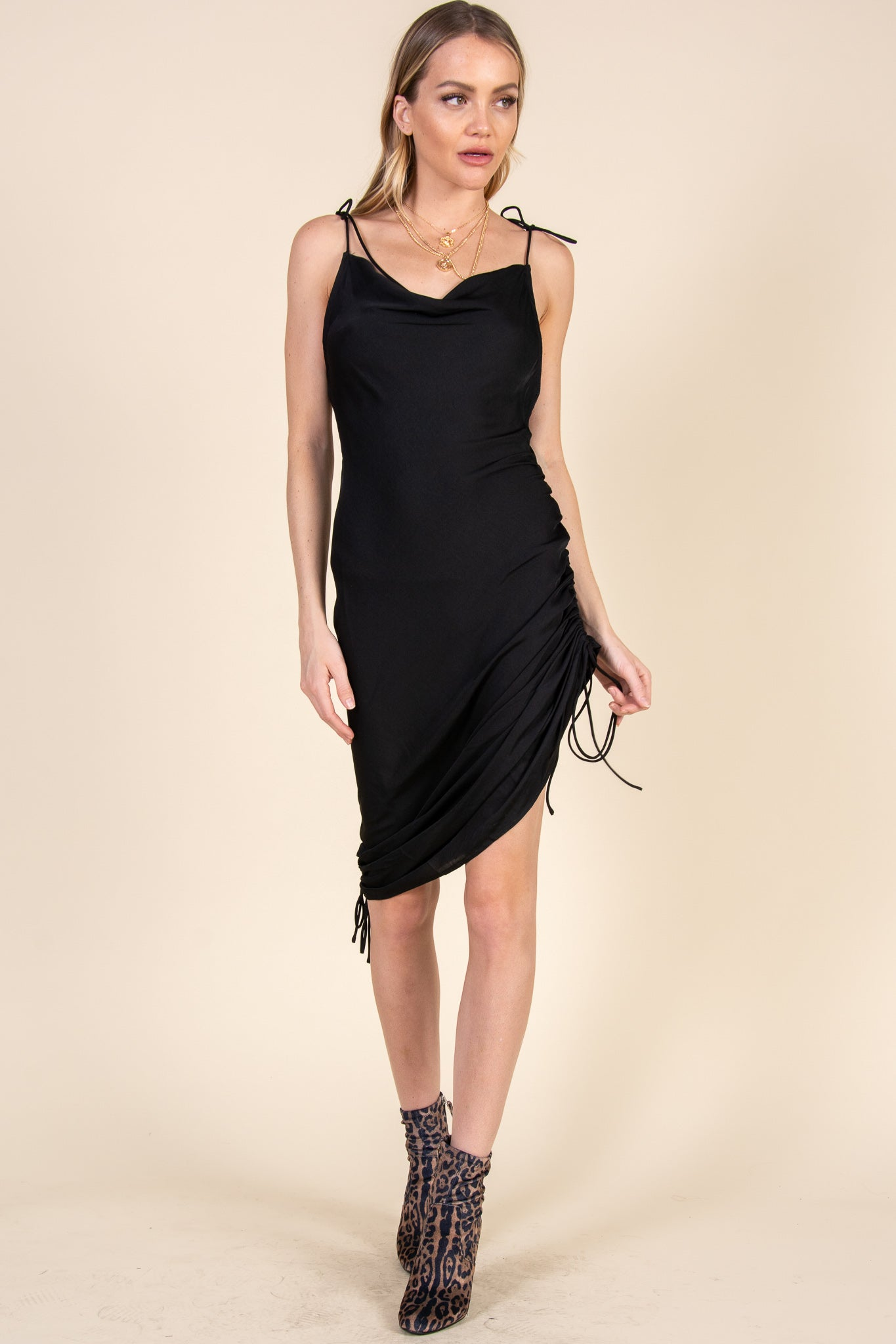 Three Way Dress-Black