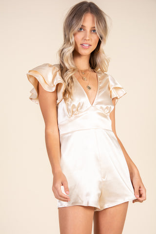 Promises Dress-Gold