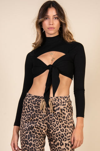 Crazy Like An Animal Top-Leopard