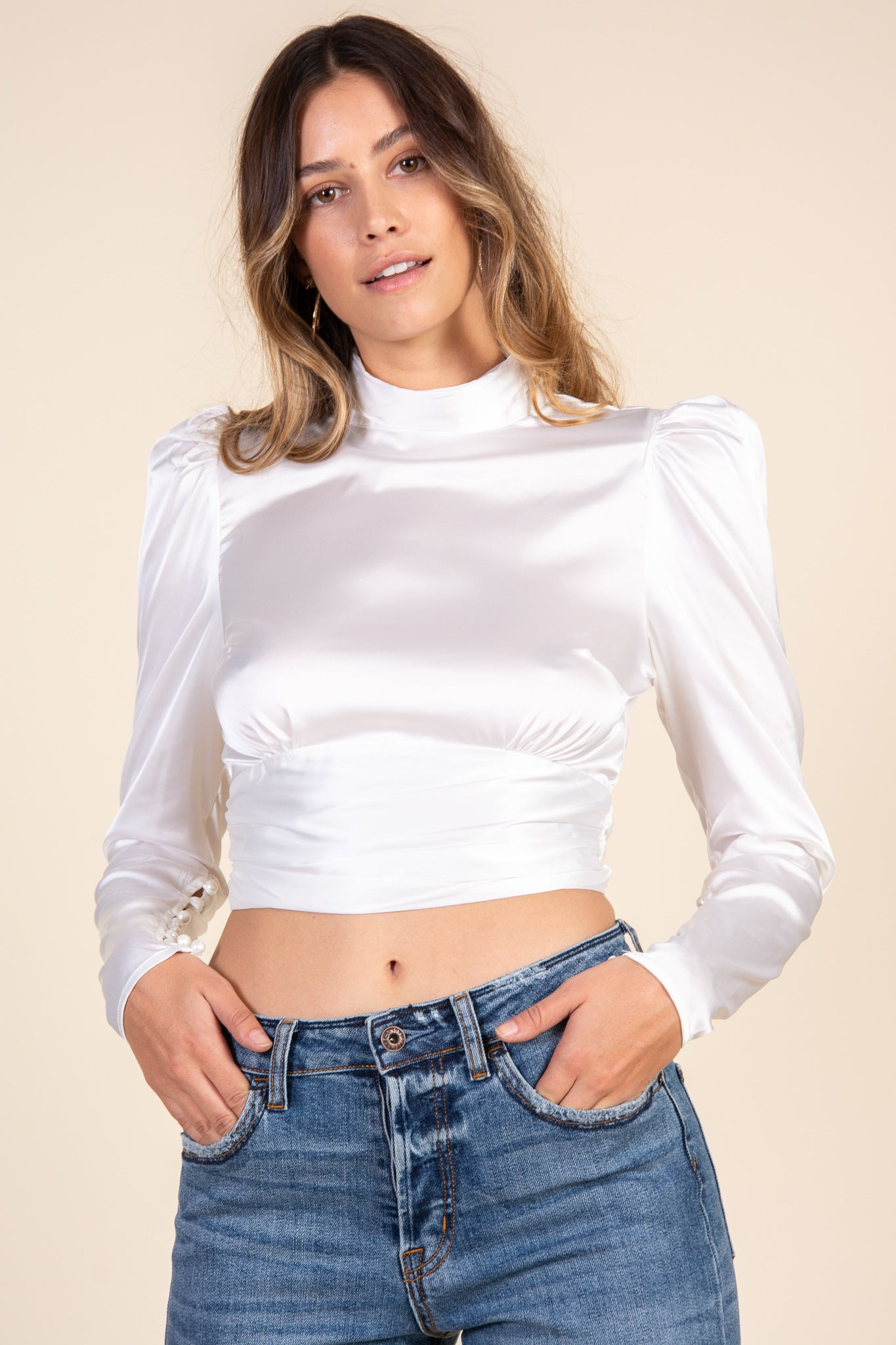 Tasha Top-White