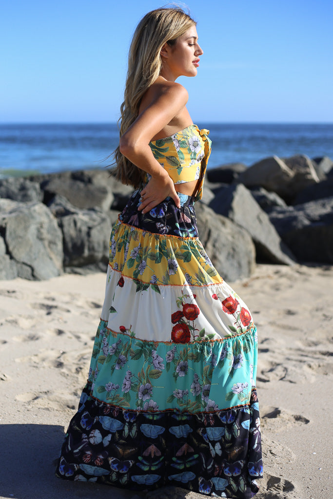 Mallorca Maxi Dress Set