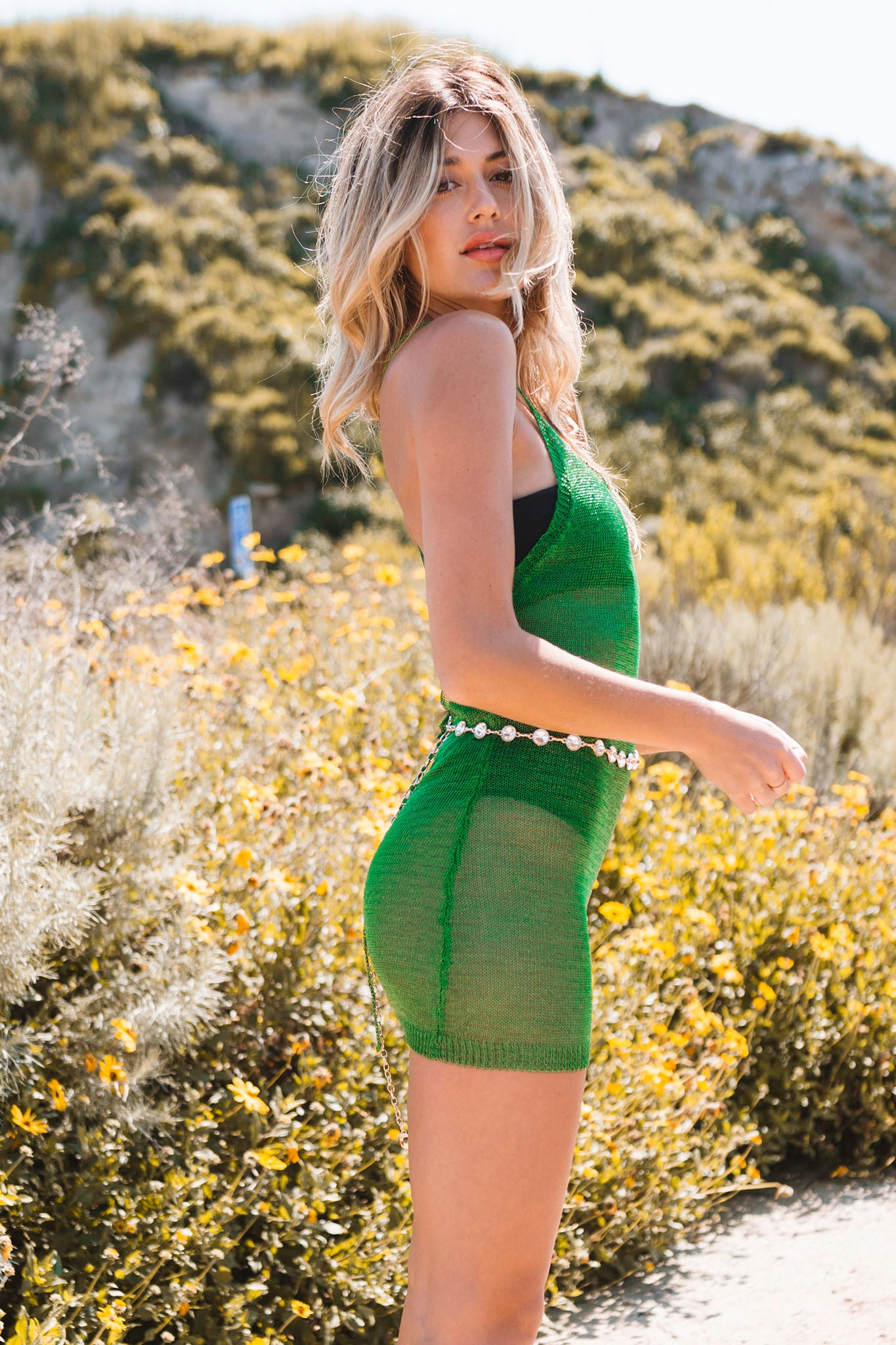 Kaleidoscope Dreams Dress-Emerald