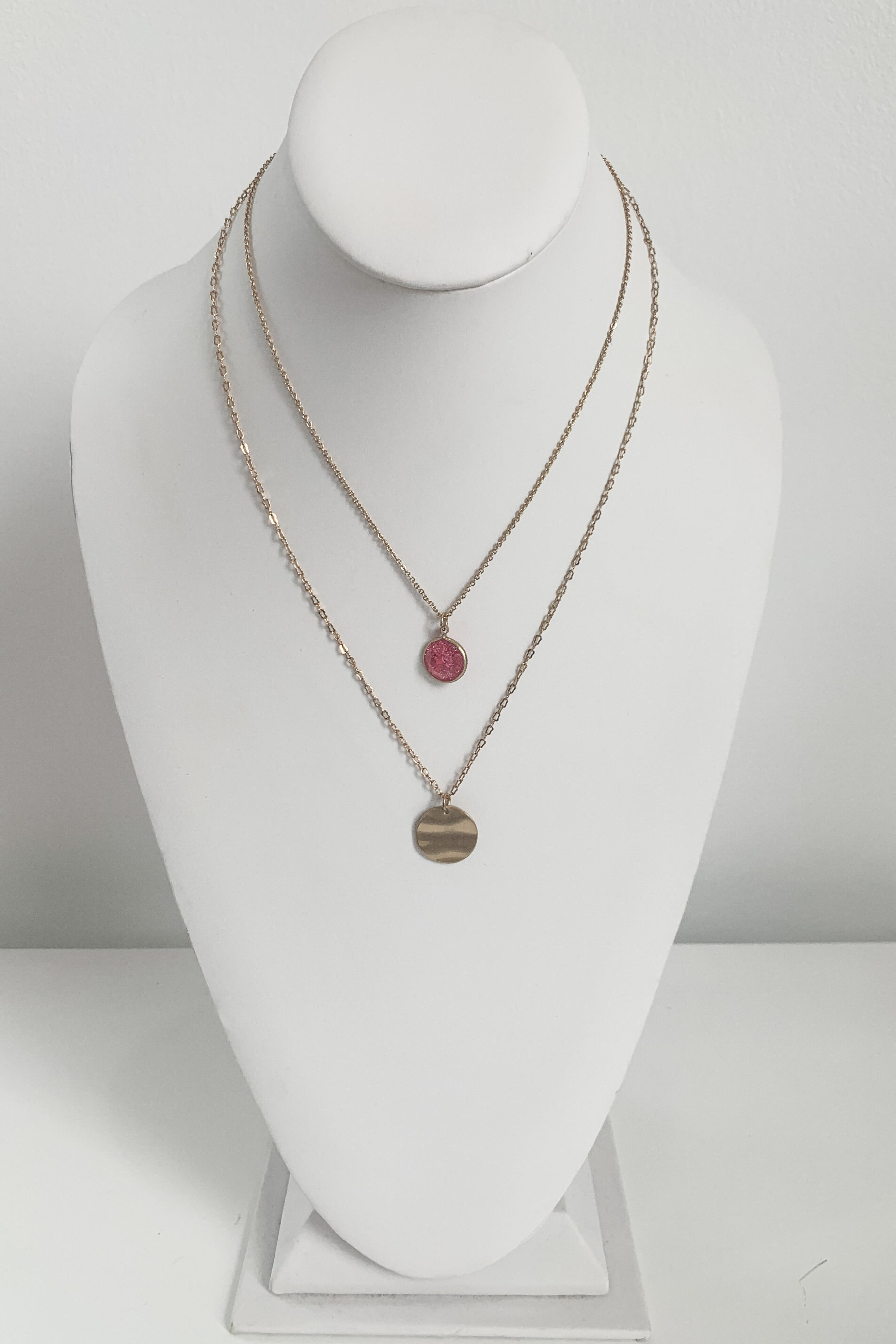 Pink Noise Necklace