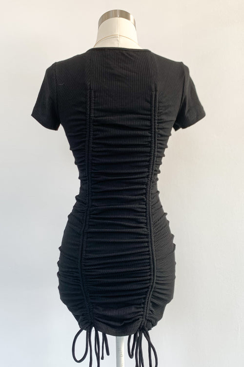 Close To Me Dress-Black