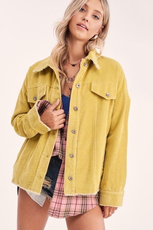 Struck A Cord Jacket-Limon