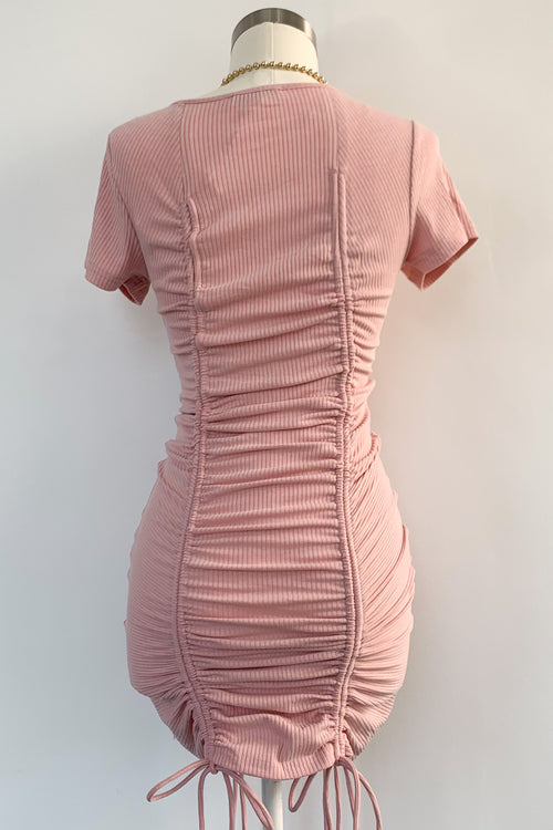 Close To Me Dress-Pink