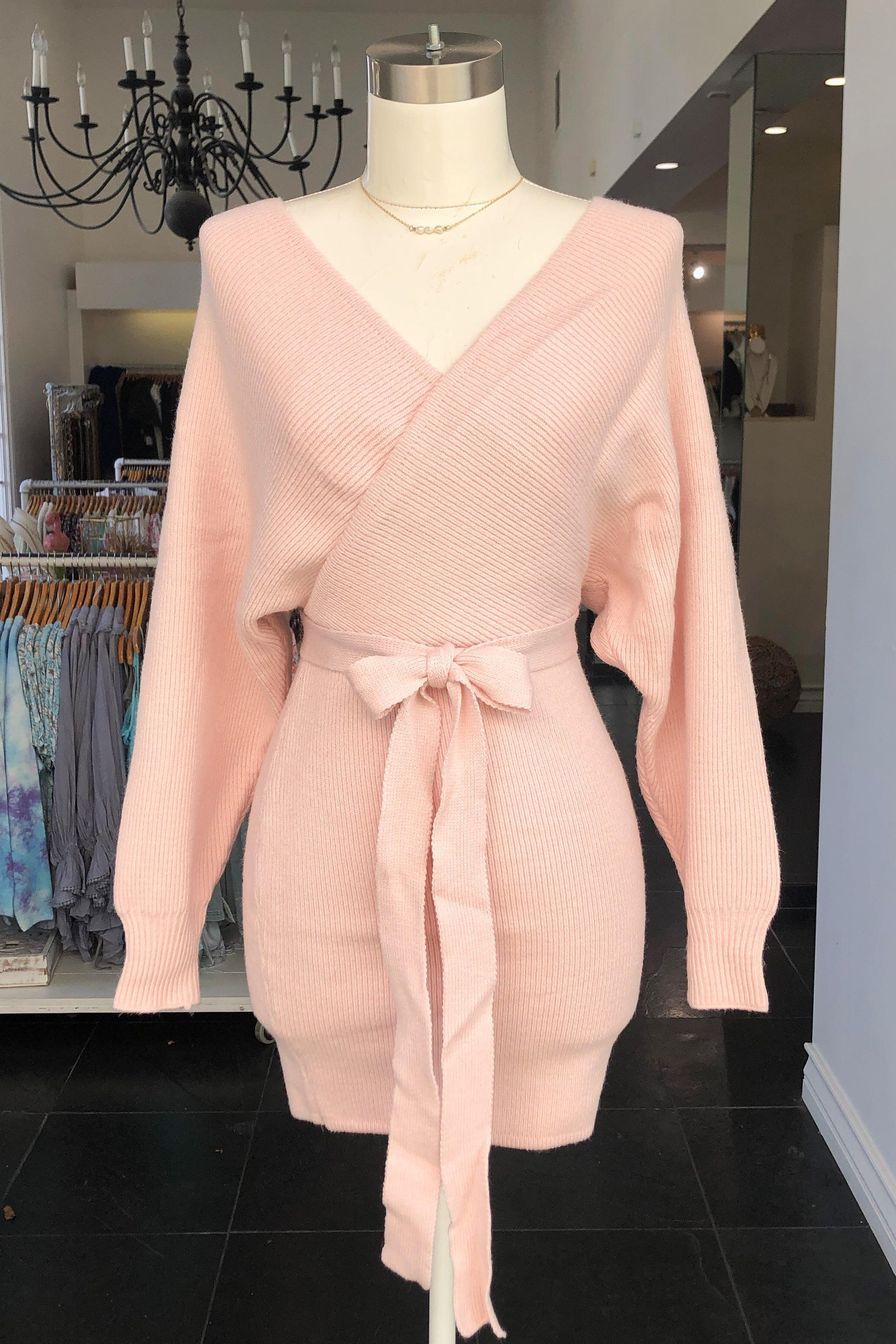Lalaine Dress-Blush