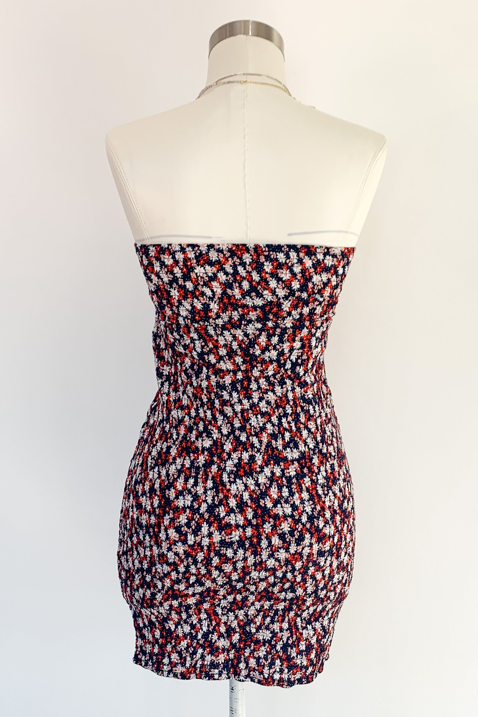 Show You Off Dress-Navy Floral