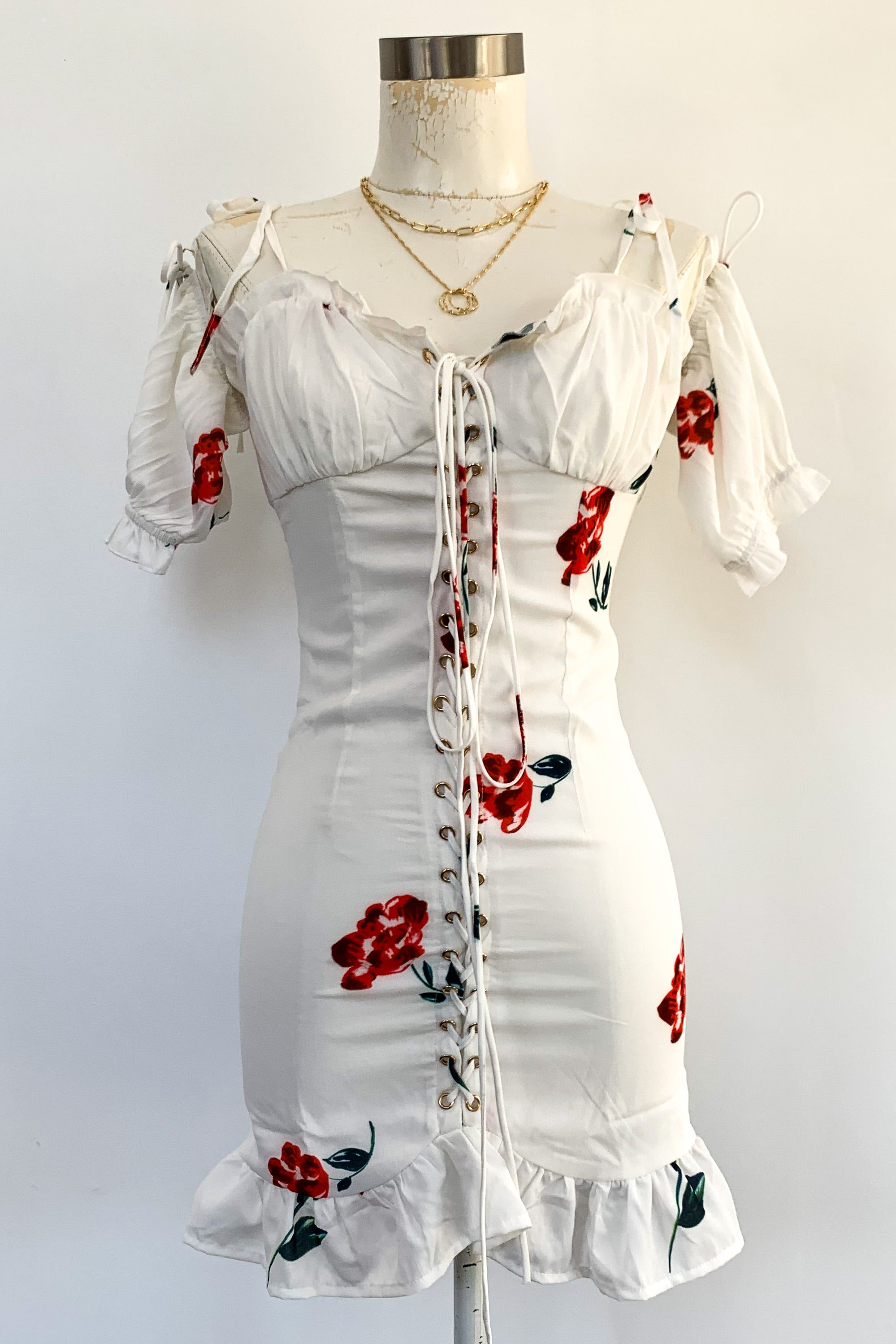 Red Rose Of Texas Dress