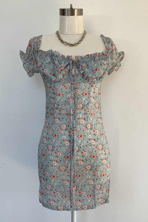 Capri Days Dress-Sage Floral