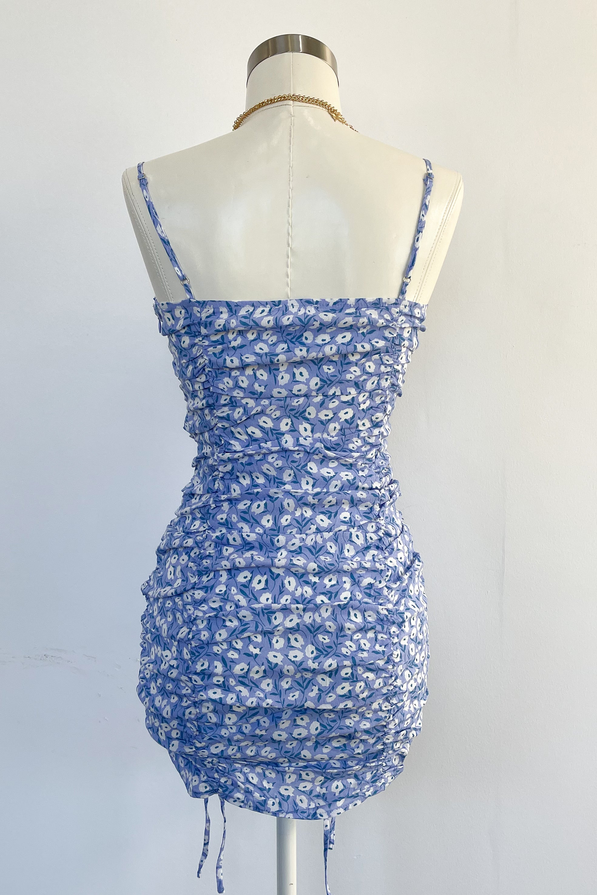 Marion Floral Dress-Lupine