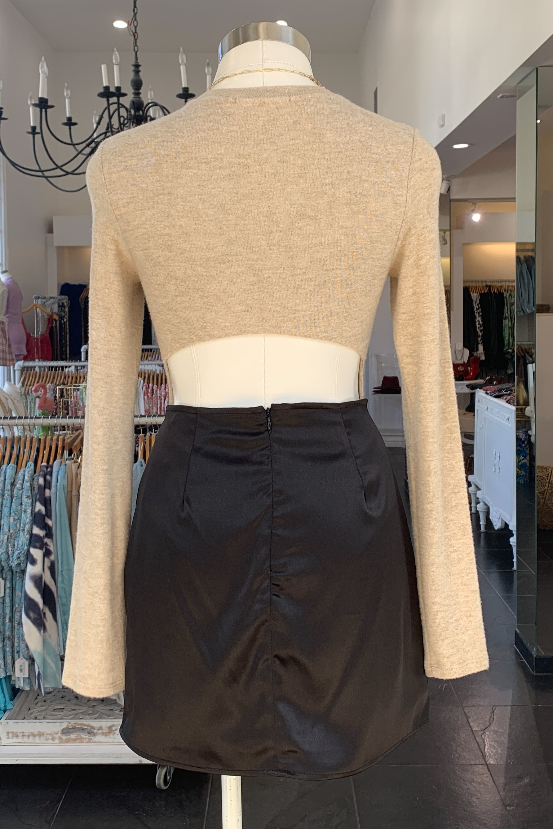 New York Skirt-Black