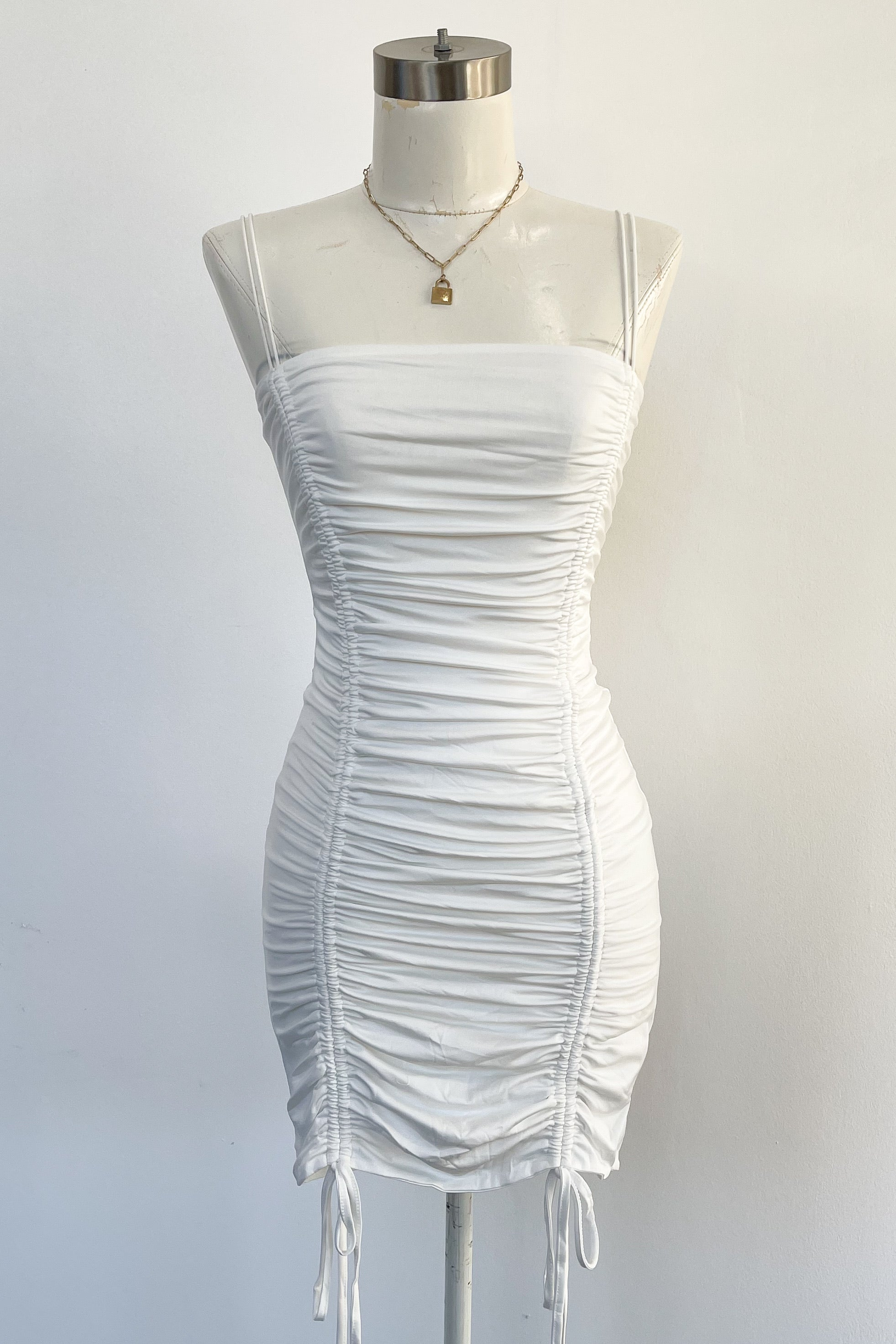 Ariella Dress-White