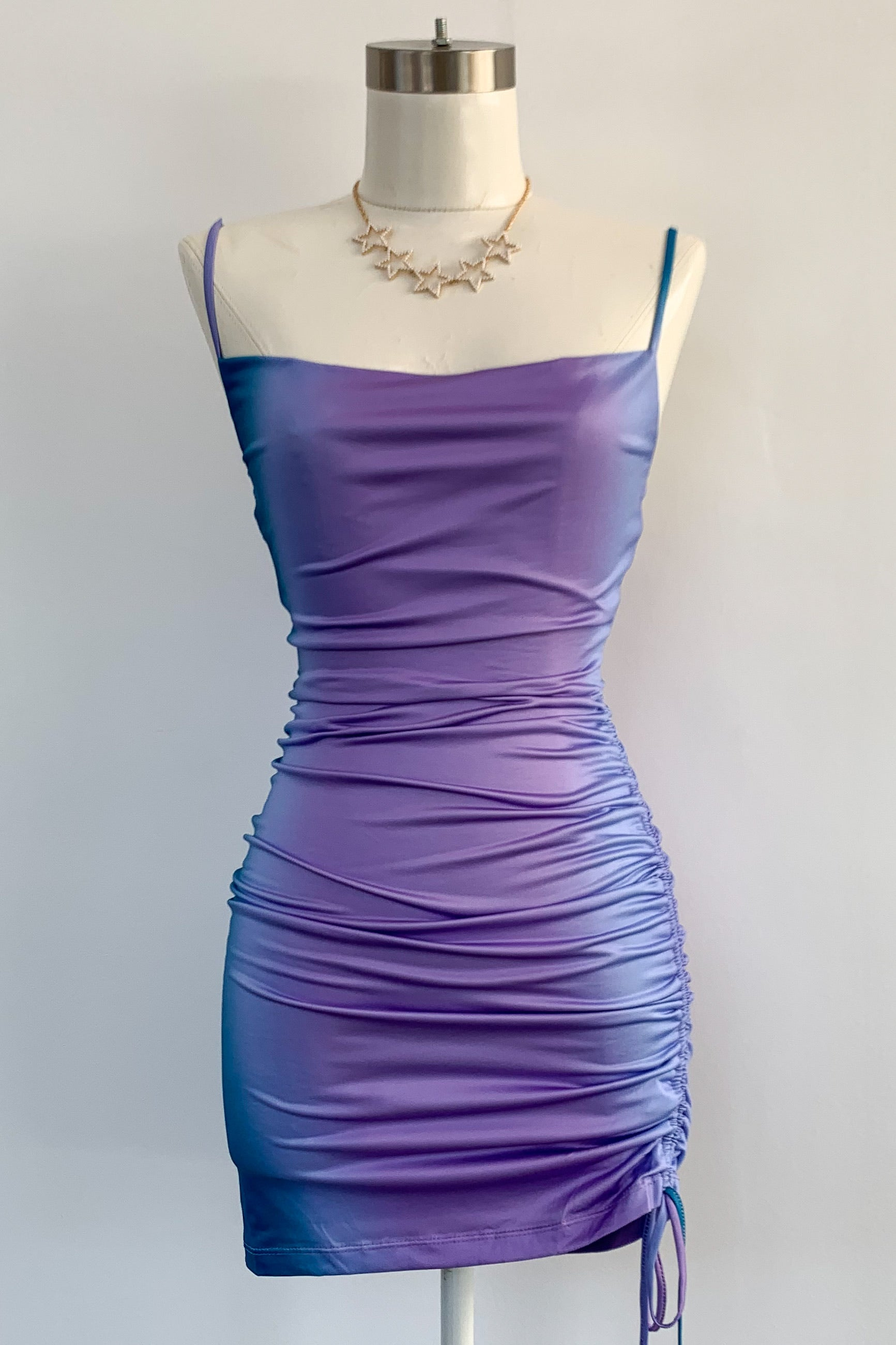 Euphoria Dress-Purple
