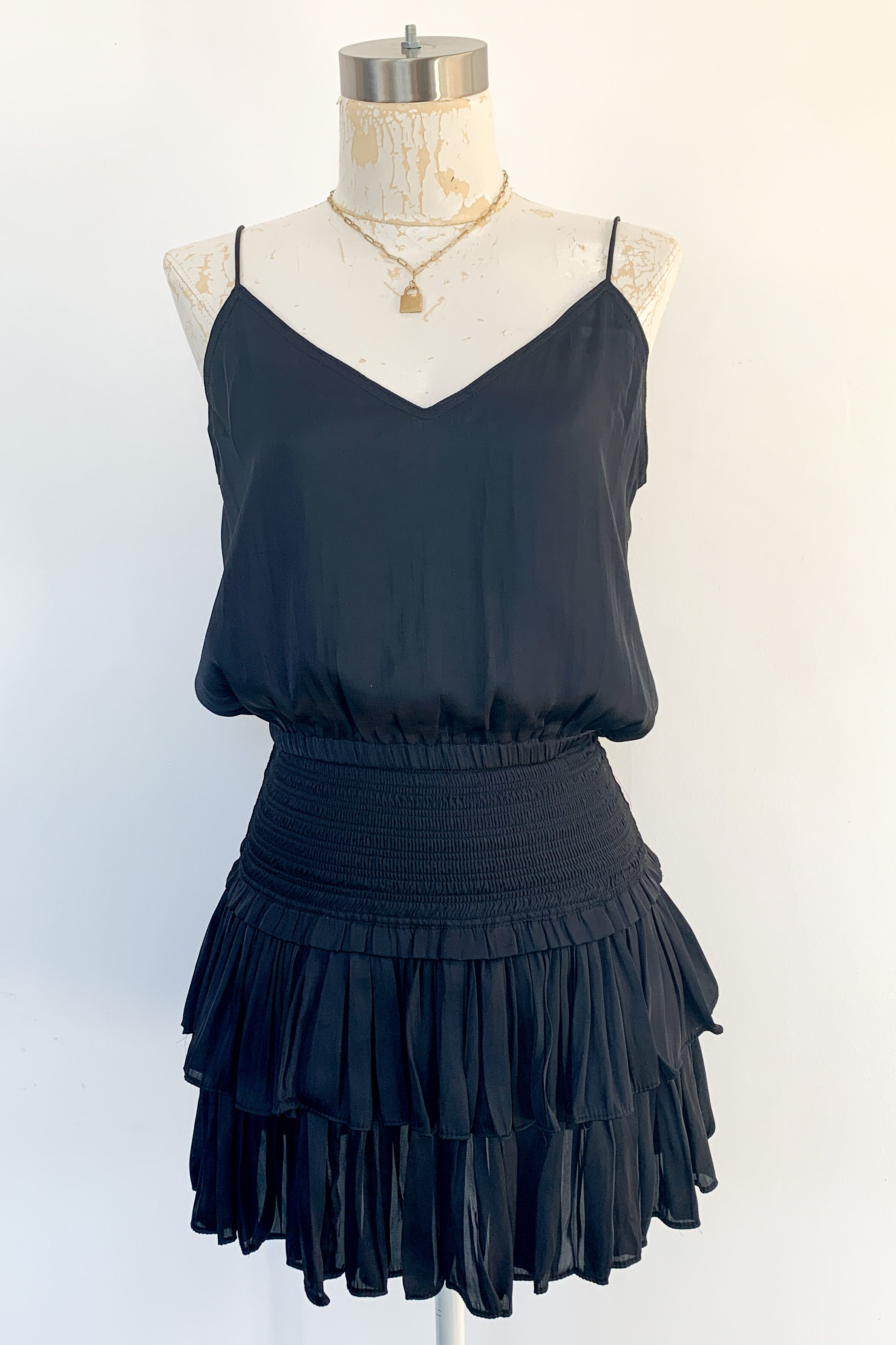 Coraline Dress Set-Black