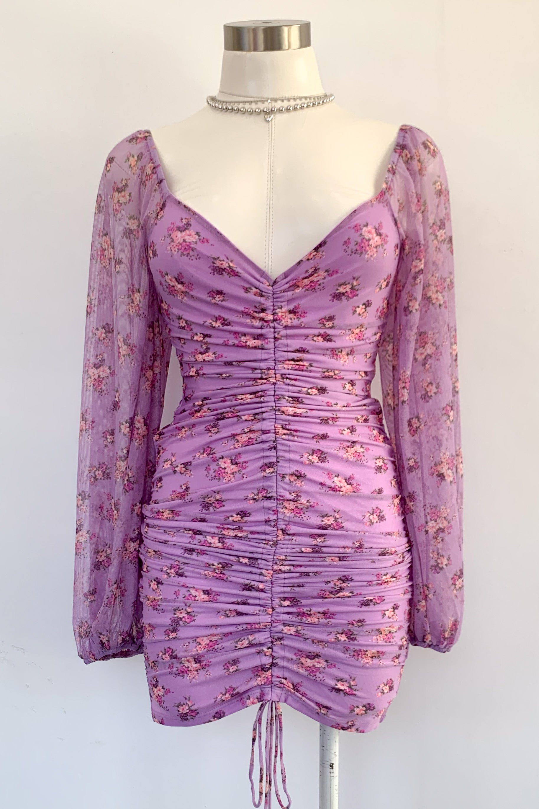Be Still My Heart Dress-Lavender