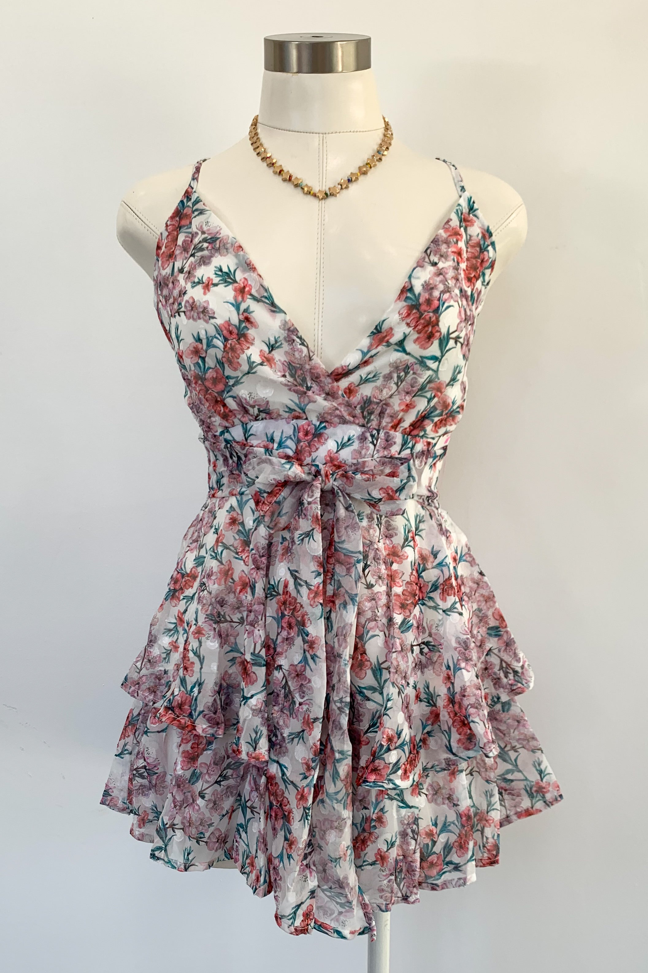 Layla Romper-Floral