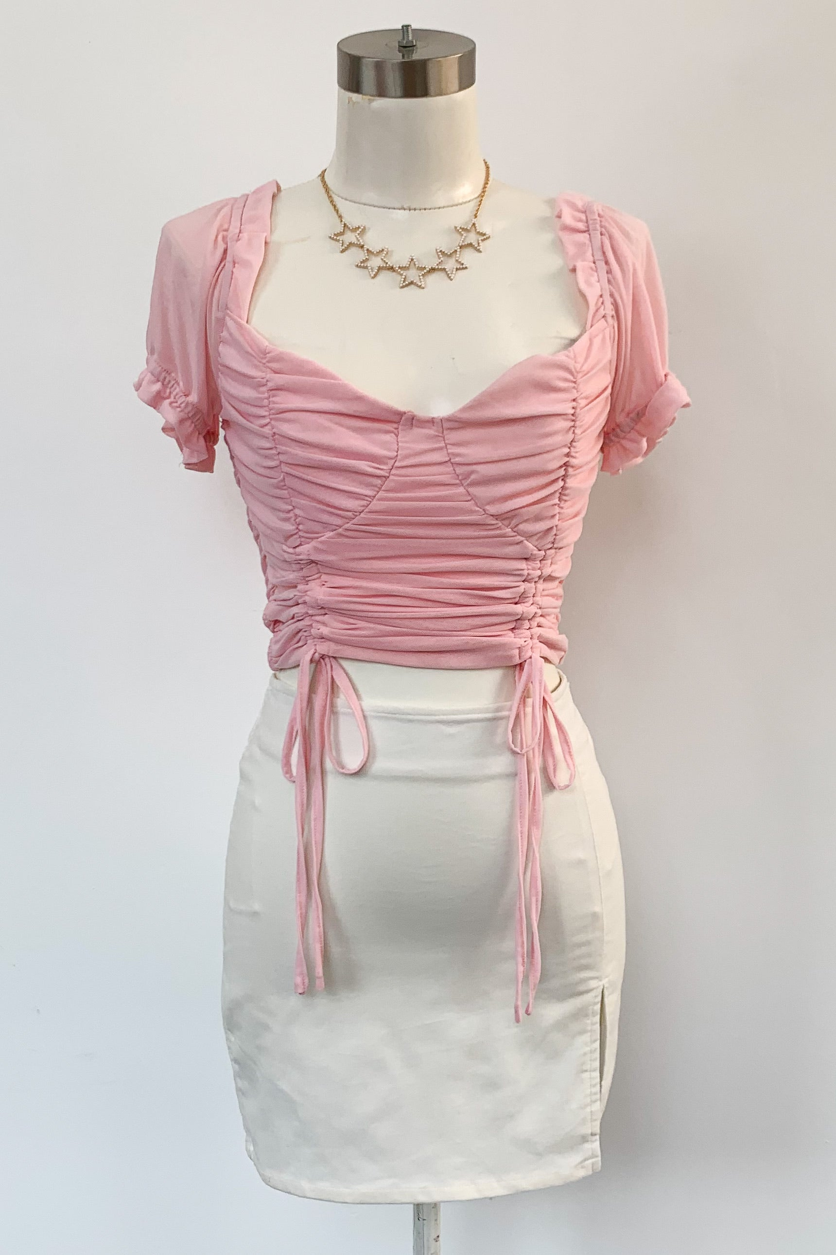 The Good Girl Top-Pink