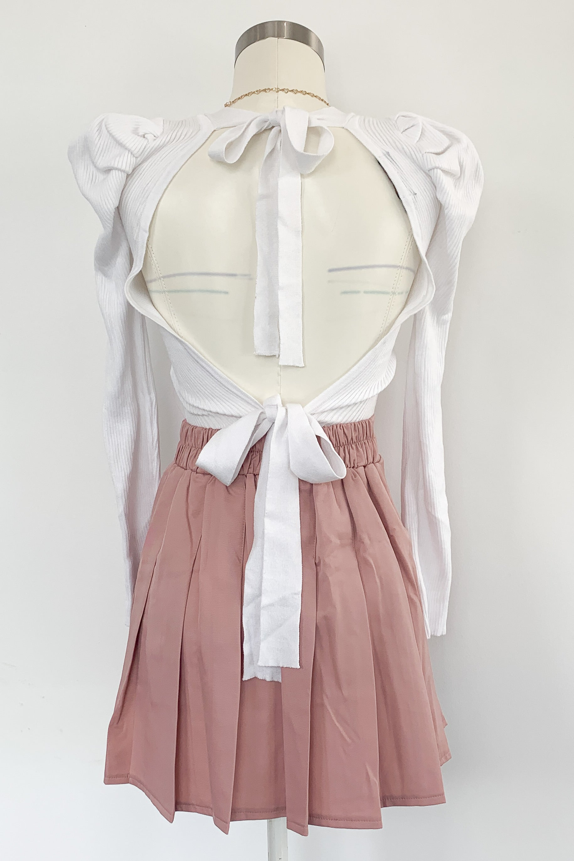 Court Love Skirt-Pink