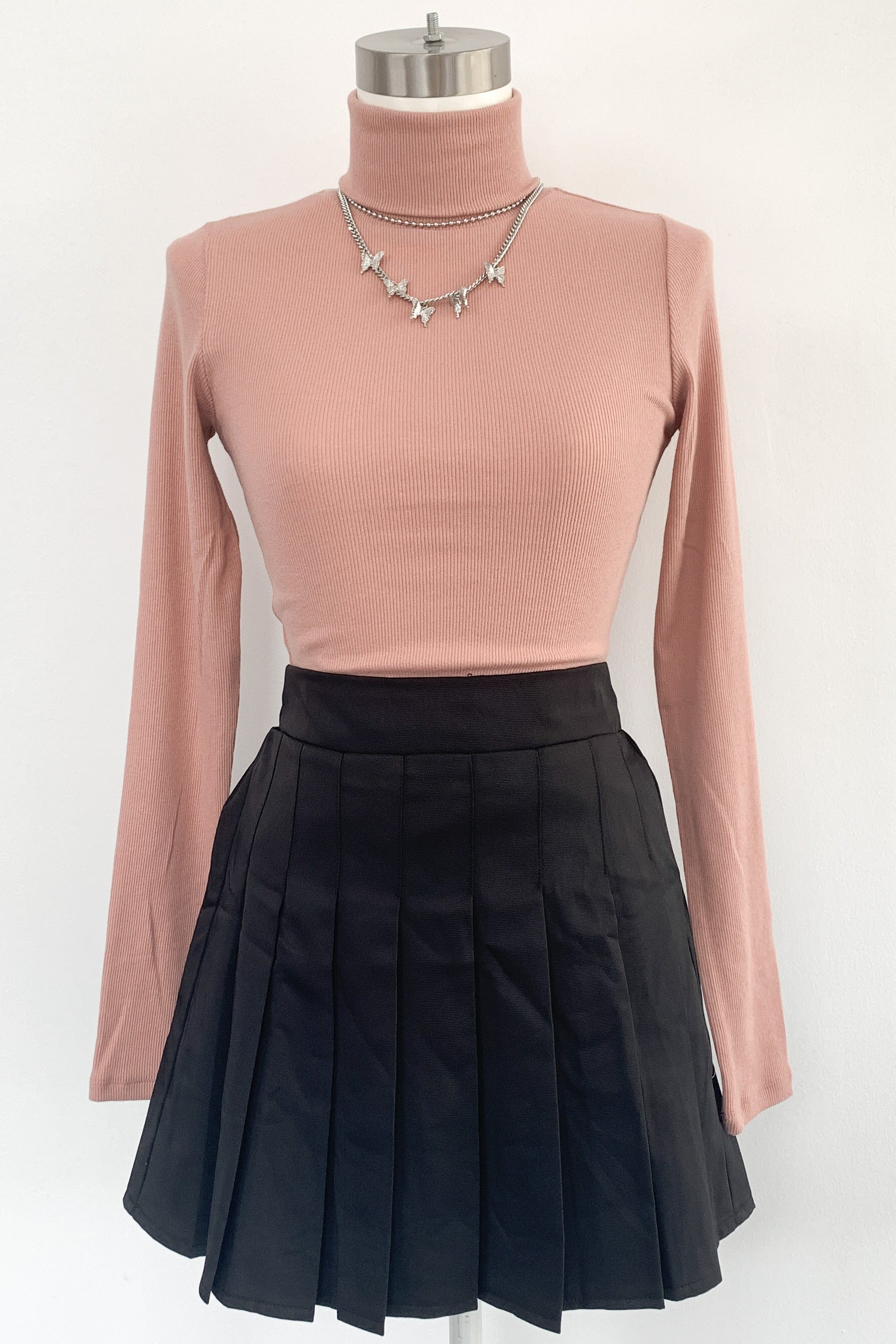 Court Love Skirt-Black