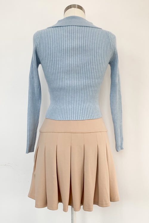 Up or Down Sweater-Baby Blue