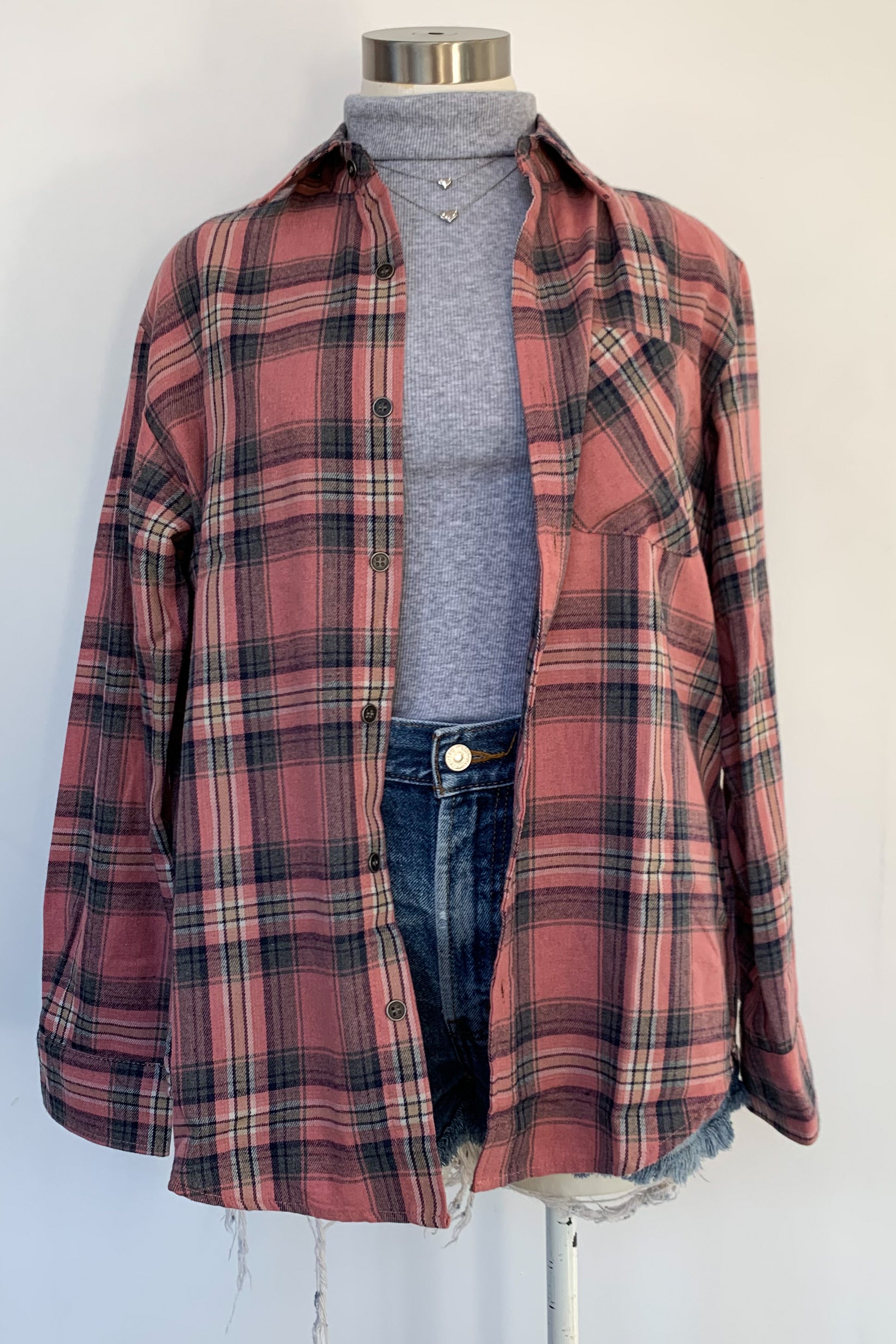 Tennessee Flannel-Pink