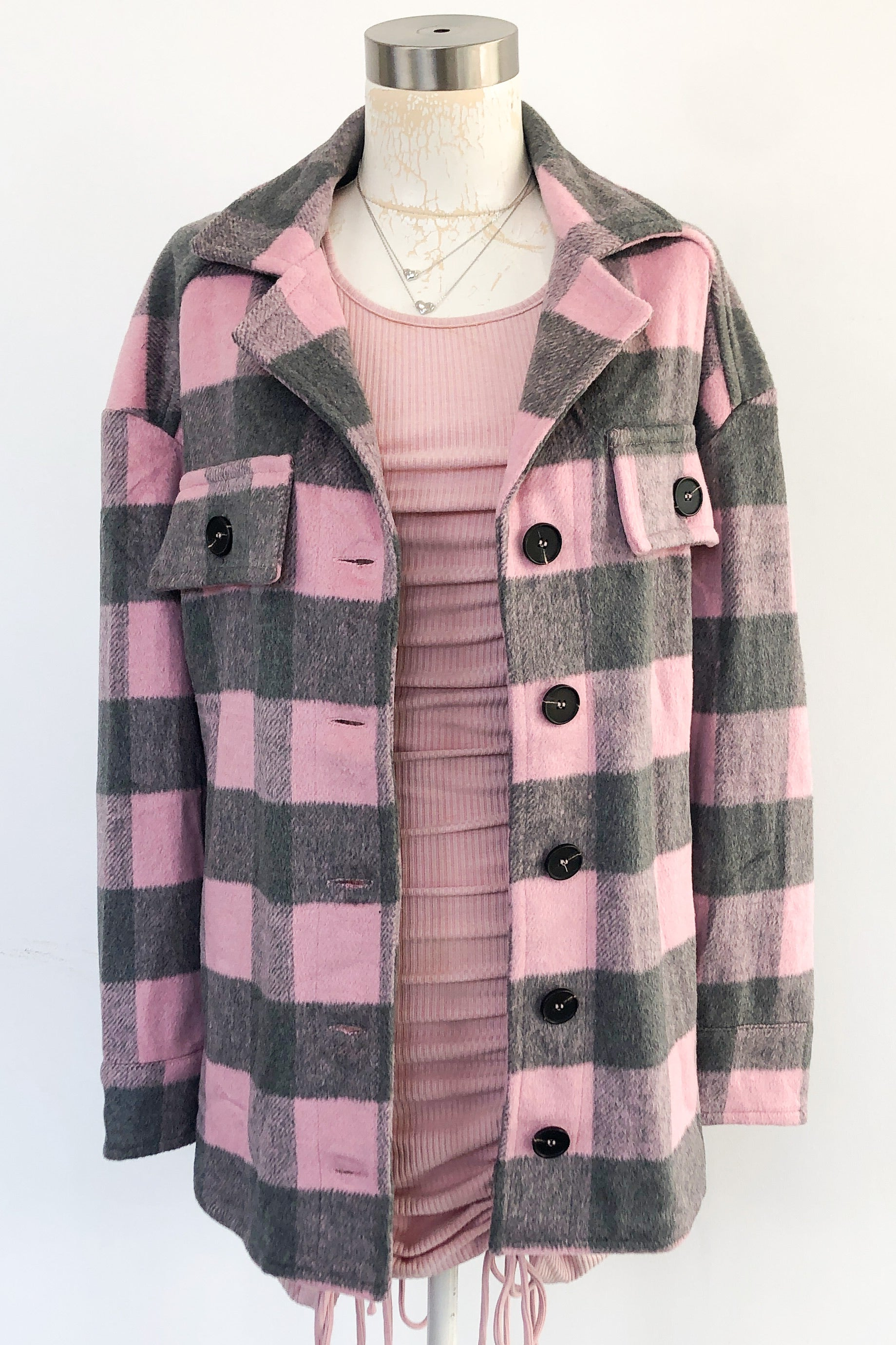 Rocky Mountain High Jacket-Pink