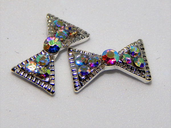 Sparkly Bow Nail Charms (Set of 2)
