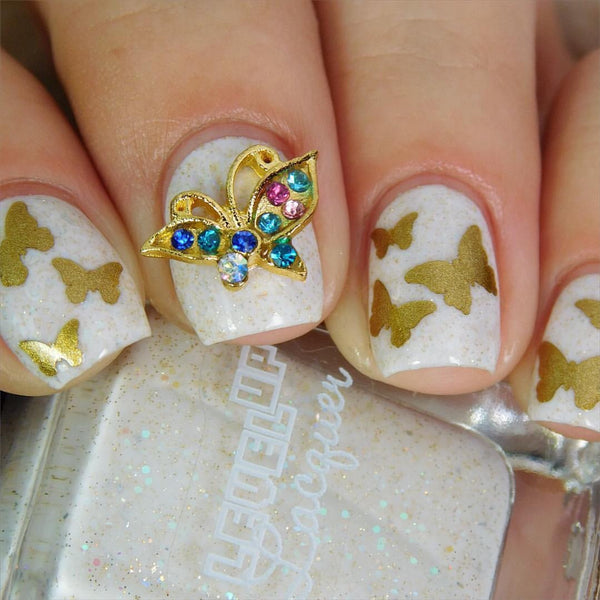 Butterfly Nail Charms (2)