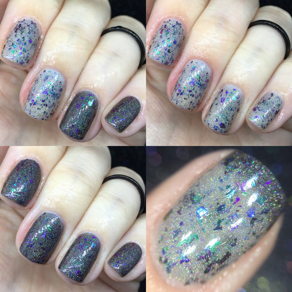 Dark Magic- Thermal Flakie Holo