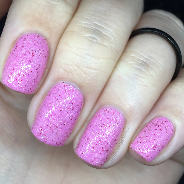 Peachy Princess - Glittery Crelly