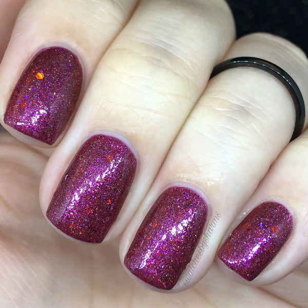 Rubies - Holo Crelly