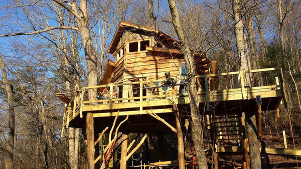 gallery  u2014 pictures  u2013 blue ridge treehouse