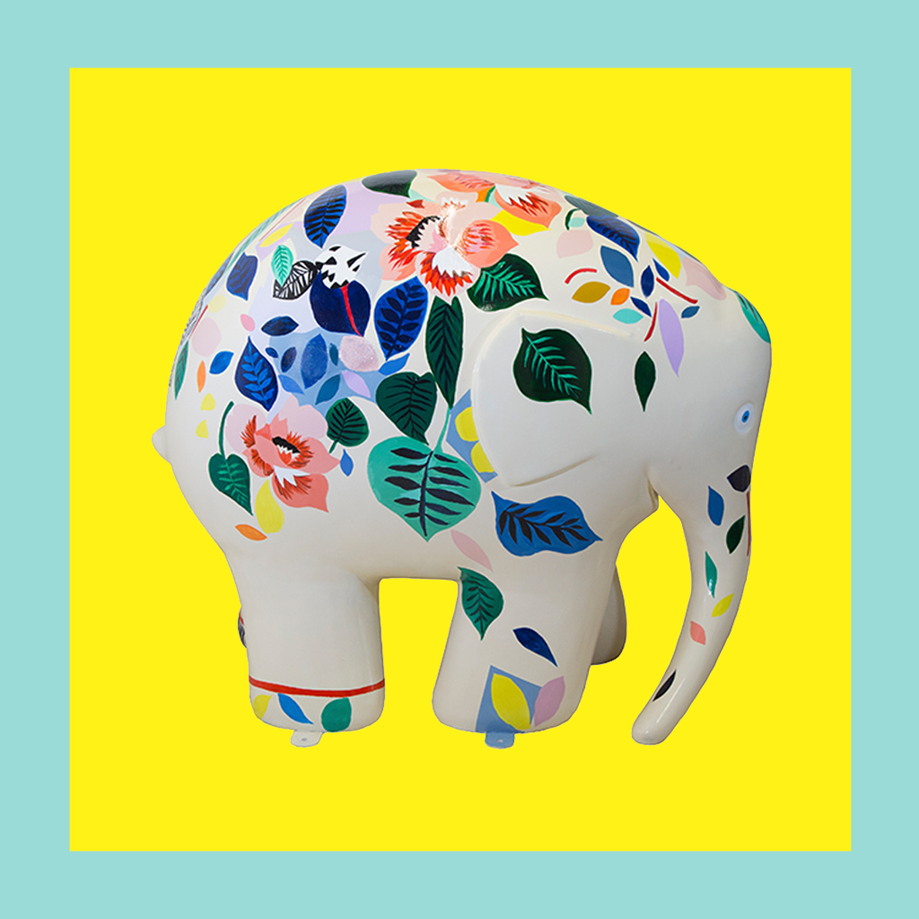 Wild in Art + Elmer The Elephant