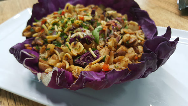 Super Symphony (Red Cabbage Protein Bowl) - Organi Soul