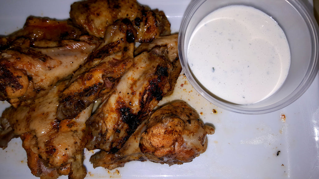 Wings Galore - Grilled - (No Fry) - Organi Soul