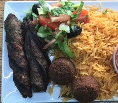 Turkish Beef Kebobs (Steer Crazy) Platter - Organi Soul