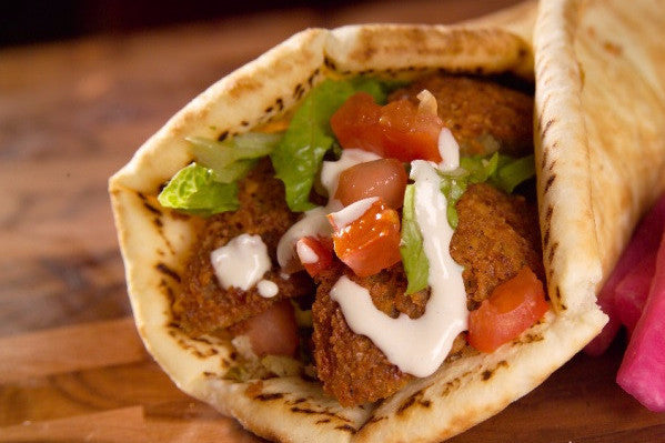 Falafel (Vegan Patty) Wrap - Organi Soul