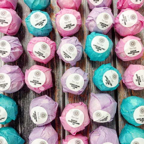 Bath Bombs by Pure Goat Soapworks