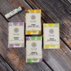 Naturally Perfect Gift Set - Pure Goat Soapworks