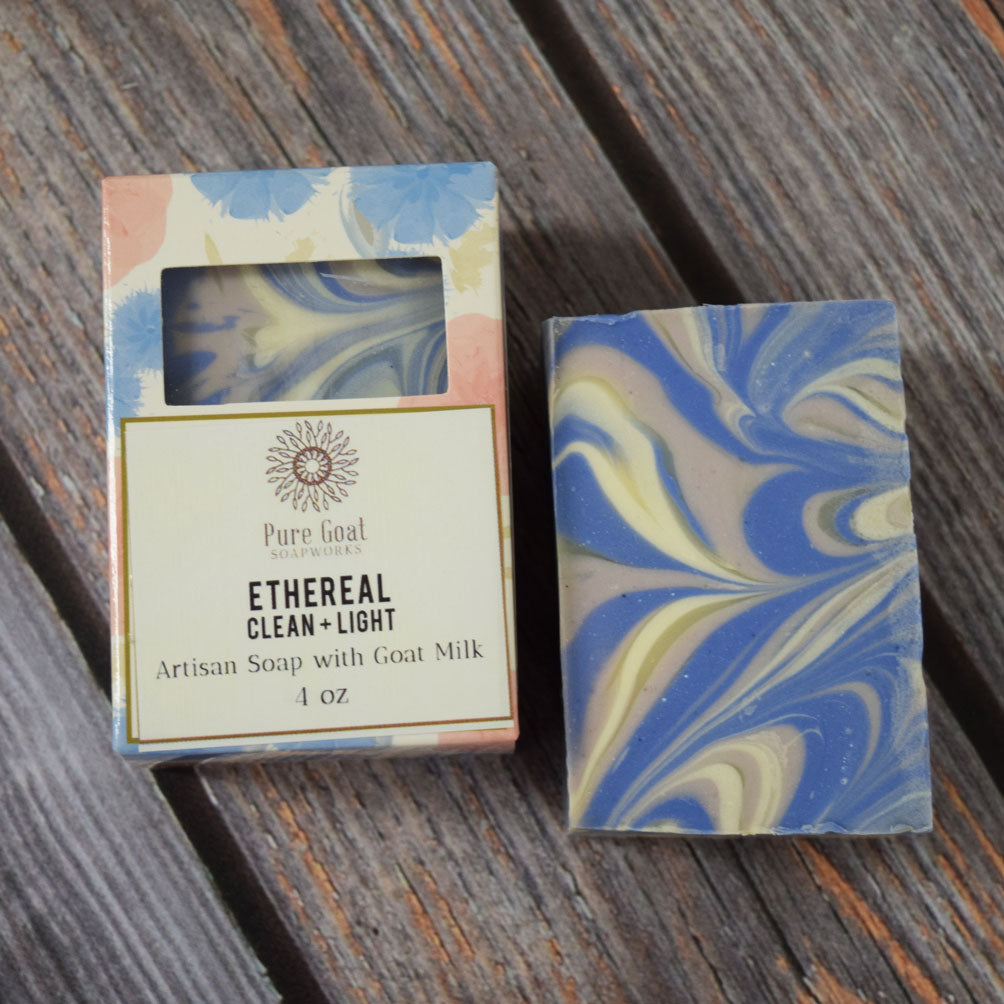 Ethereal Goat Milk Soap - Pure Goat Soapworks