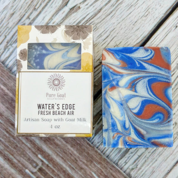Water's Edge - Fresh Beach Air - Pure Goat Soapworks