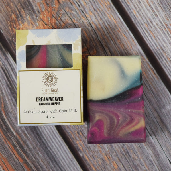 Dream Weaver - Patchouli Goat Milk Soap - Pure Goat Soapworks